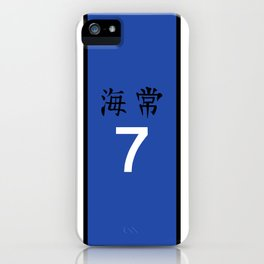 Kise's Jersey iPhone Case