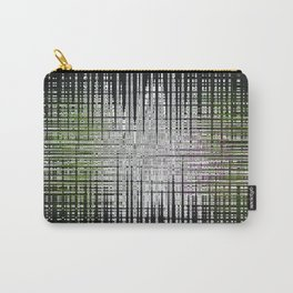 noir abstrait Carry-All Pouch