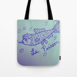 Le Poisson Tote Bag