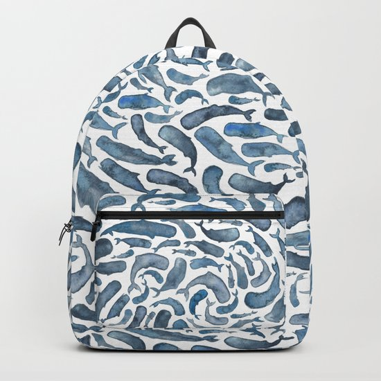 Whale, Sperm Whale Backpack