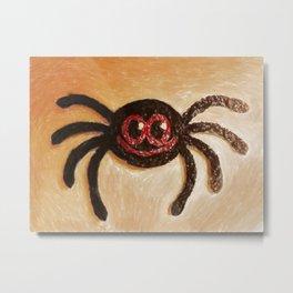 Mr Spider. Metal Print