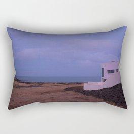 pink iceland Rectangular Pillow