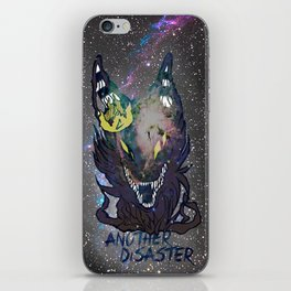 Another Disaster iPhone Skin