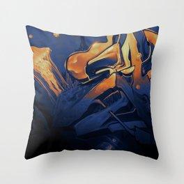 Wildstyle Close-Up - 18 Gran Canaria Throw Pillow
