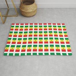 Flag of senegal – senegalais,senegalaise,senegalese,dakar,wolof. Rug