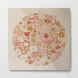 Flower Study No. 1: Exuberance Metal Print