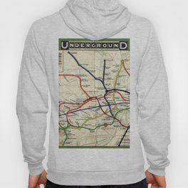 London Underground 1908 Hoody