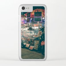 New york city Food Clear iPhone Case
