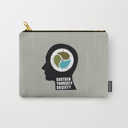 sustain yourself society Carry-All Pouch