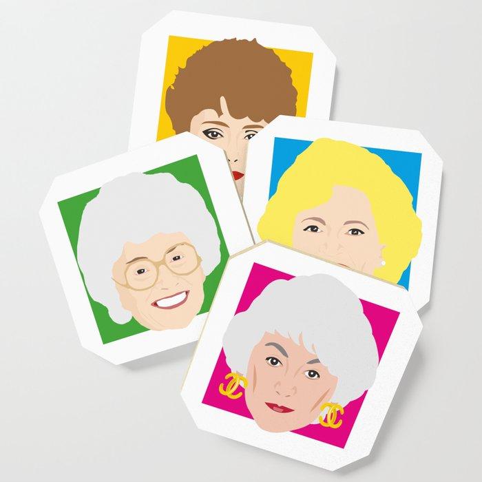 The Golden Girls, Betty White, Bea Arthur, Rue McClanahan, Estelle Getty Coaster