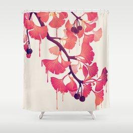 O Ginkgo Shower Curtain