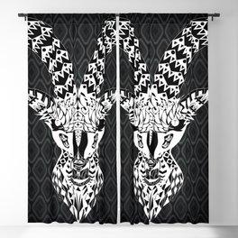 black goat ecopop Blackout Curtain