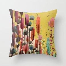 if spring is there Throw Pillow