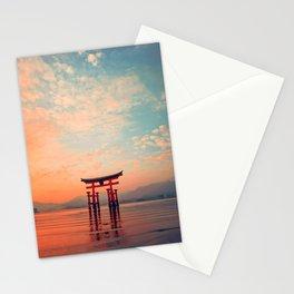 Miyajim Island Torii Stationery Cards