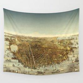 San Francisco Waterfront Wall Tapestry