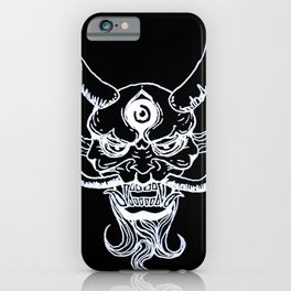 Black Water Oni iPhone Case