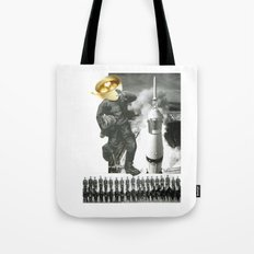 Another Day Begins Tote Bag