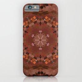 Hardwood Hill Brown Kaleidoscope iPhone Case