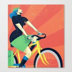 Summer Riding Canvas Print