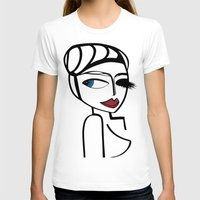 megan lara T-shirts featuring Lara by Kalex Art