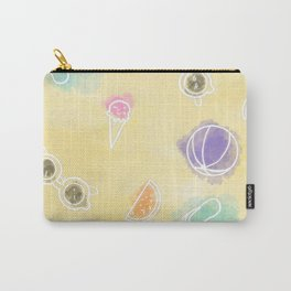 Summer in watercolors Carry-All Pouch