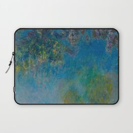 Claude Monet Wisteria Laptop Sleeve