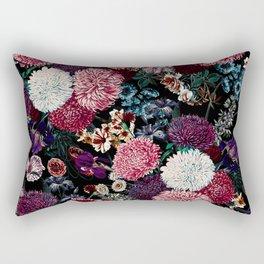 EXOTIC GARDEN - NIGHT VIII Rectangular Pillow