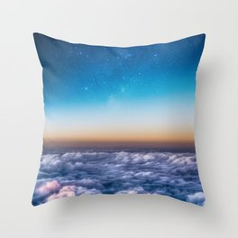 Rise and Shine Galaxy Throw Pillow