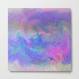 78-09-46 (pink rainbow glitch) Metal Print