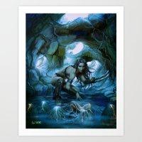 predator Art Prints featuring Predator by va-sily