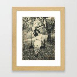 Swingin' Framed Art Print