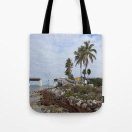Pigeon Key Island Tote Bag