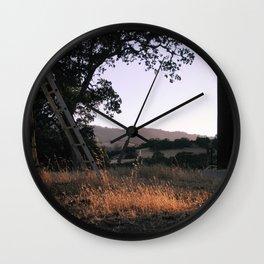 carmel valley light Wall Clock