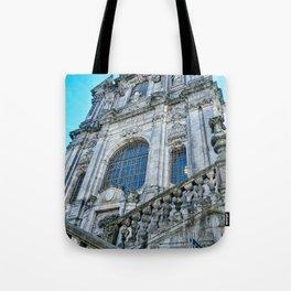 Iglesia De Los Clerigos Tote Bag