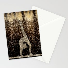 Sparkle Gymnast Stationery Cards