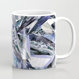 Ice Blue Crystalize Coffee Mug