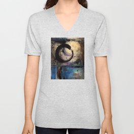 Being Within No. 4 by Kathy Morton Stanion Unisex V-Neck