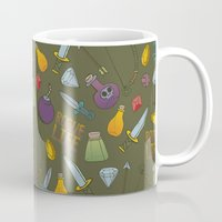 rogue Mugs featuring Rogue Life by Tay Silvey