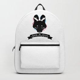 Transfemale pride deer Backpack