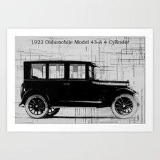 1922 Oldsmobile Art Print
