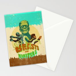 BEASTS AND MONSTERS Stationery Cards