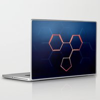 fullmetal alchemist Laptop & iPad Skins featuring THE ALCHEMIST by James Alex Davies