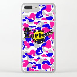 Ape x Dr Martens Clear iPhone Case