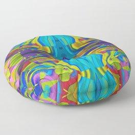 Pineal Mandala Floor Pillow