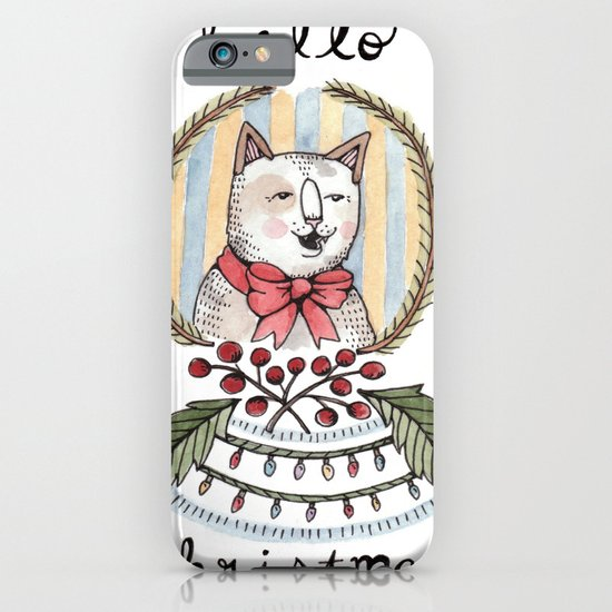 hello christmas iPhone & iPod Case