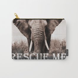 Elephant Rescue Carry-All Pouch