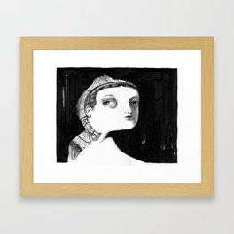 odalisque Framed Art Print