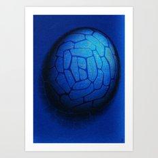 - the fog stencil - Art Print