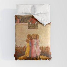 Fra Angelico - Martyrdom of Saint Cosma and Saint Damian Comforters