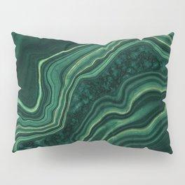 Malachite Texture 05 Pillow Sham